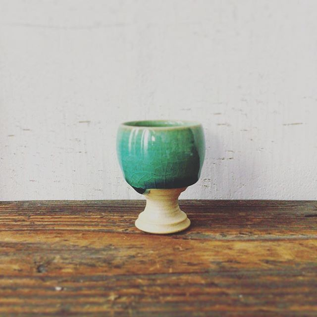 おちょこ?今日は窯出し#表札#アトリエショップCOCOCO#コココ#COCOCO#紅型陶器#陶器 #陶芸#沖縄 #okinawa
