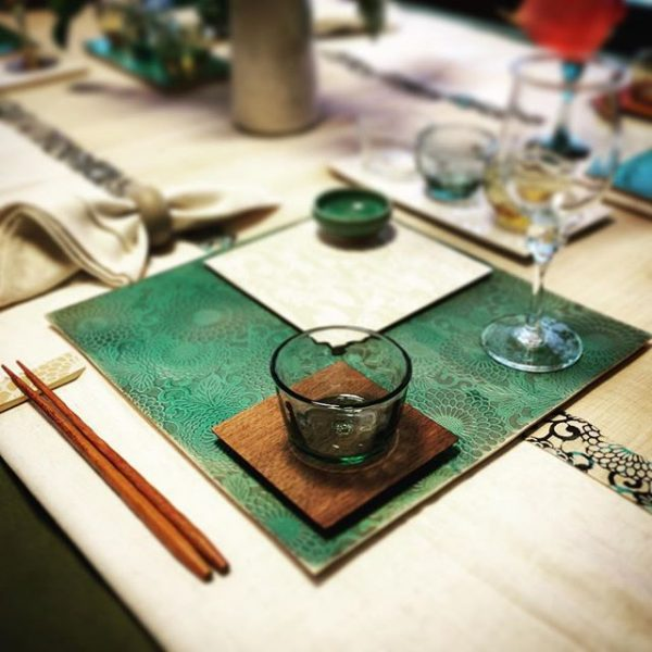 東京ドームでのイベントに向けて展示方法のシミュレーション(^ ^) #表札#アトリエショップCOCOCO#コココ#COCOCO#紅型陶器#陶器 #陶芸#沖縄 #okinawa