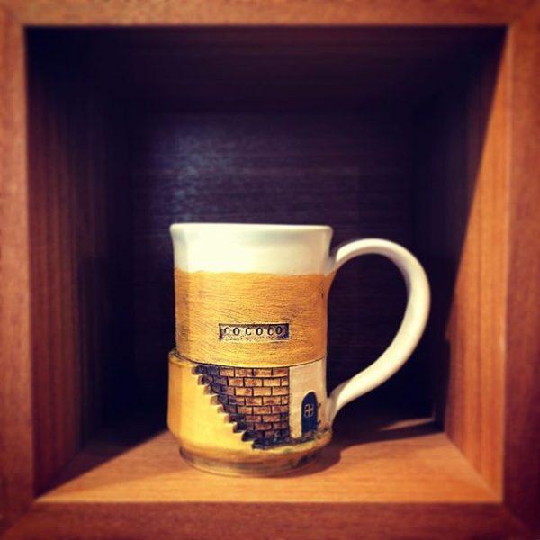 夢の中のコーヒーマグ